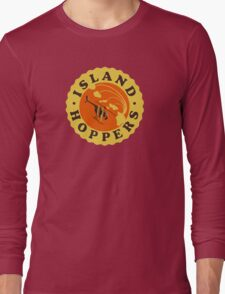 Island Hoppers /yellow Long Sleeve T-Shirt