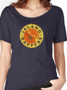 Island Hoppers /yellow Women's Relaxed Fit T-Shirt