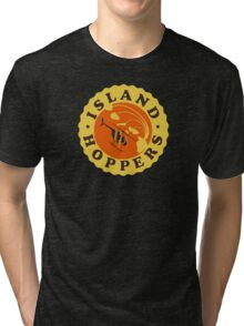 Island Hoppers /yellow Tri-blend T-Shirt