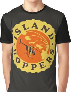 Island Hoppers /yellow Graphic T-Shirt