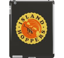 Island Hoppers /yellow iPad Case/Skin
