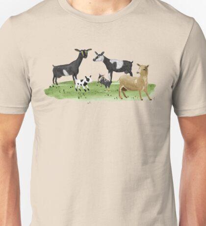 Dairy Goats Unisex T-Shirt
