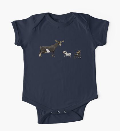 A Doe & Her Kids One Piece - Short Sleeve