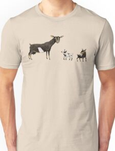 A Doe & Her Kids Unisex T-Shirt