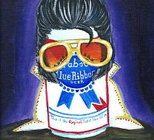 Pabst as The King by jkaecustoms