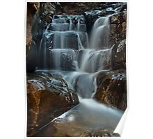 Upper First Falls, Morialta Poster