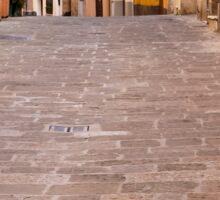 Walking Through Montepulciano Sticker