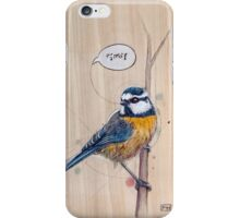 Blue Tit iPhone Case/Skin