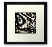 Living Type Framed Print