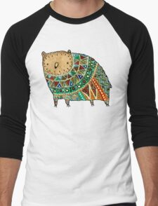 Aztec Bear Men's Baseball ¾ T-Shirt