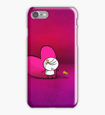 Dont Touch My Heart iPhone Case/Skin