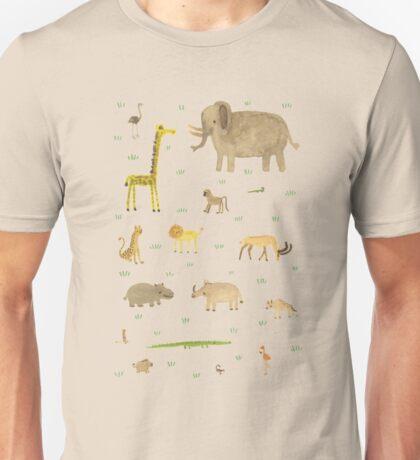African Animals Unisex T-Shirt
