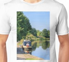 barge on the canal  Unisex T-Shirt