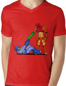 Reservoir Megatroid Mens V-Neck T-Shirt