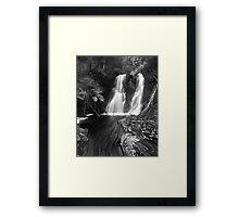 """Hogarth Falls"" ∞ Strahan, Tasmania - Australia Framed Print"