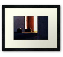 angles Framed Print