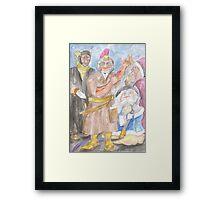 The Restorers Framed Print