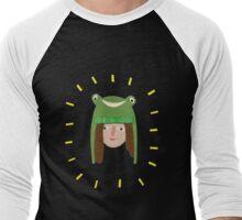 Self Portrait in Frog Hat Men's Baseball ¾ T-Shirt