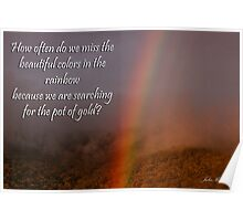 Rainbow or Pot of Gold? Poster