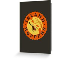 Island Hoppers /orange Greeting Card