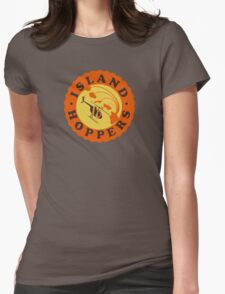 Island Hoppers /orange Womens Fitted T-Shirt