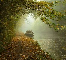 Moored in the mist by Chris Fletcher