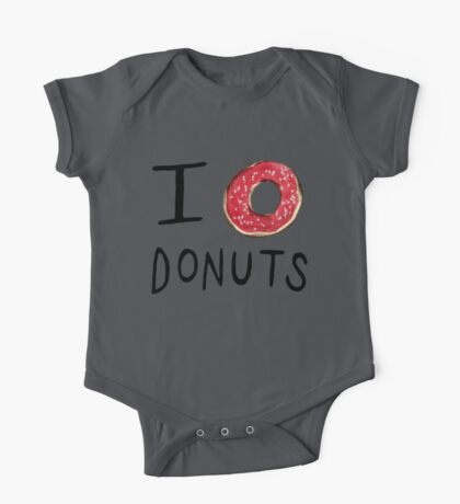 I ❤ Donuts One Piece - Short Sleeve