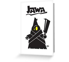 Jawa  Greeting Card