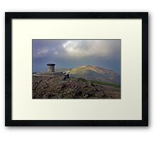 North Hill from the Worcestershire Beacon Framed Print