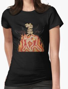 Kung fu fury Womens Fitted T-Shirt