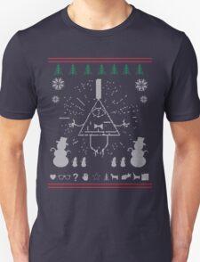 Gravity Falls Ugly Christmas Sweater Print Unisex T-Shirt