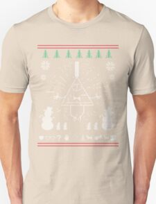 Gravity Falls Ugly Christmas Sweater Print T-Shirt