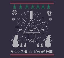 Gravity Falls Ugly Christmas Sweater Print Long Sleeve T-Shirt