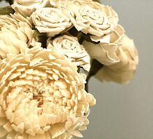 antique flowers by moonyart