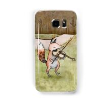 Violin Fox Samsung Galaxy Case/Skin
