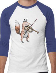 Violin Fox Men's Baseball ¾ T-Shirt