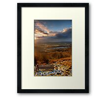 Sunset From the Beacon Framed Print