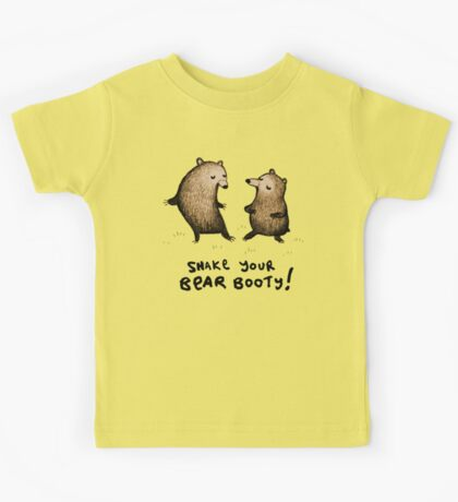 Bear Booty Dance Kids Tee