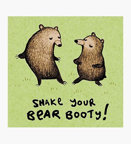 Bear Booty Dance Photographic Print