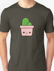 Cactus in cute pot Unisex T-Shirt