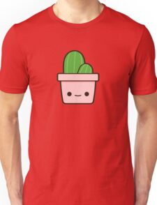Cactus in cute pot Unisex T-Shirt