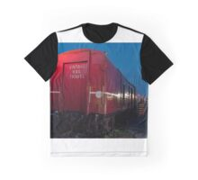 0828 Vintage Rail Graphic T-Shirt