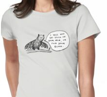 Bats Aren't Evil Womens Fitted T-Shirt