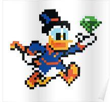 Scrooge Mcduck  Poster
