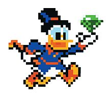 Scrooge Mcduck  Photographic Print