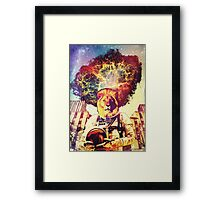 He Came At The Very End Framed Print