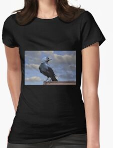 Majestic Jackdaw. Womens Fitted T-Shirt