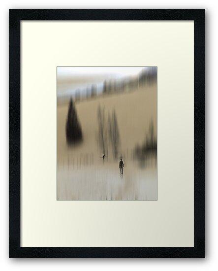 Winter Walk (beige), Fischbacher Alps, Austria by KUJO-Photo