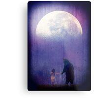 Follow your inner moonlight Metal Print