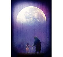 Follow your inner moonlight Photographic Print